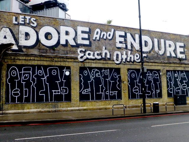 Street Art at Brick Lane.