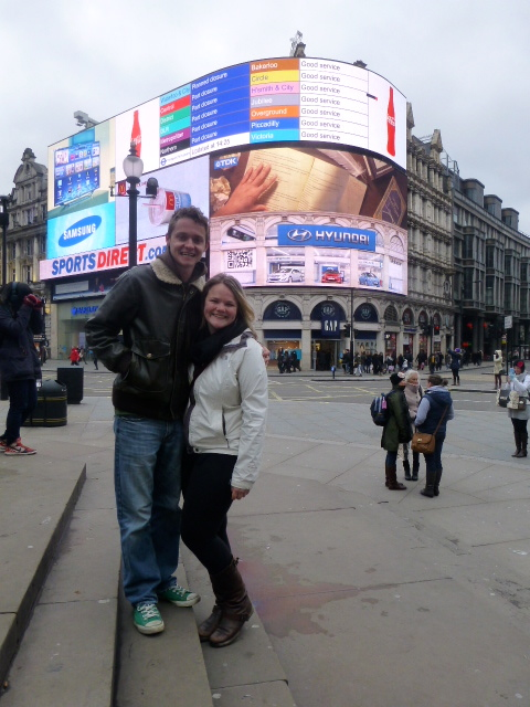 Piccadilly Circus Cuteness.