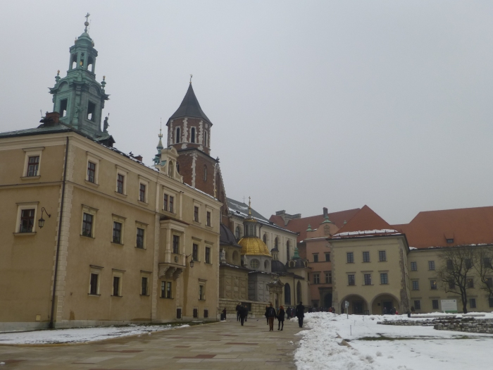 Wawel Royal Castle. The views of the city from here are beautiful.