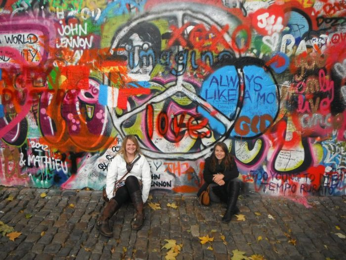 John Lennon Wall Prague, Czech Republic
