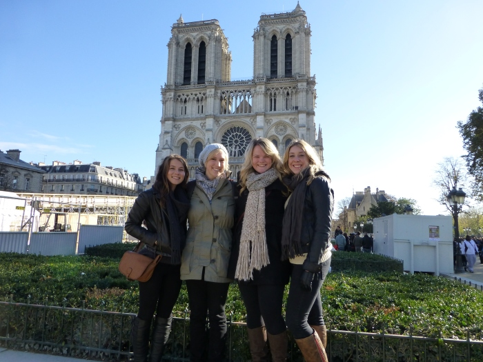 Notre Dame with a few of my favorites. Paris, France