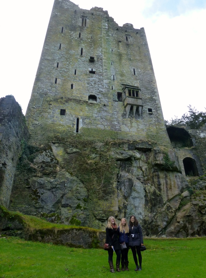 Blarney Castle in Cork, Ireland.