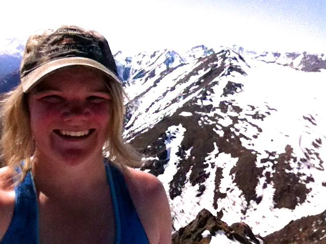 Selfie on Mountain Top